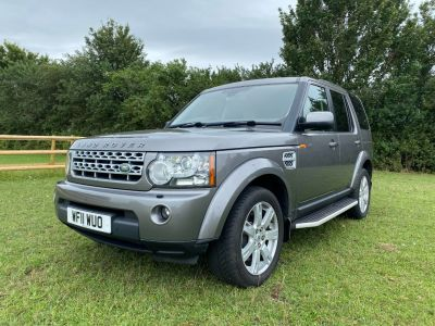 Land Rover Discovery 3.0 TDV6 XS 5dr Auto Estate Diesel Grey at Gloucester Landrover Gloucester