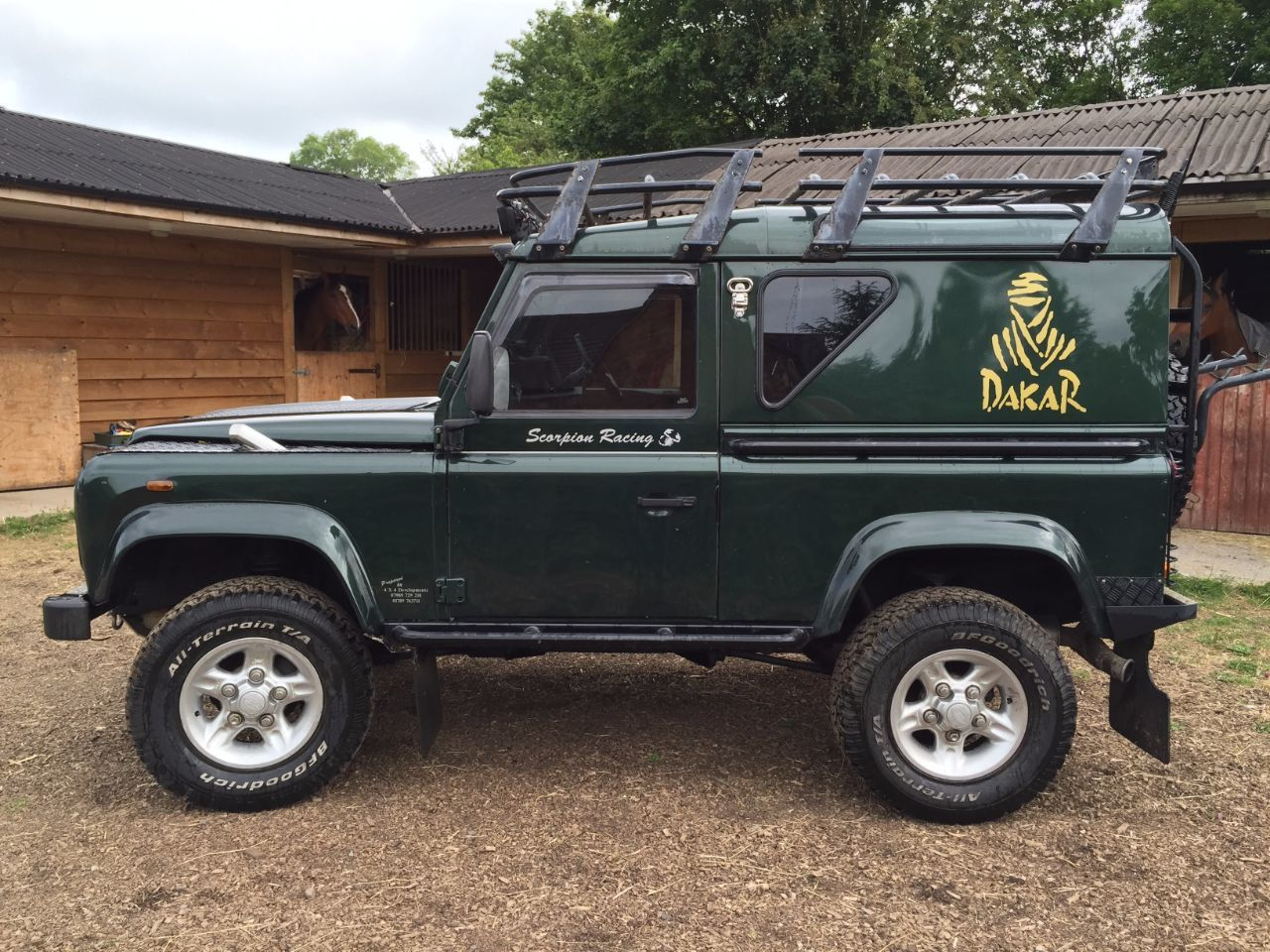 Used Land Rover Defender County Hard Top Td5 For Sale In