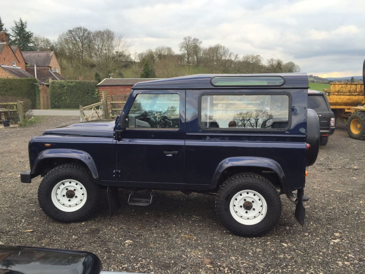 2013 Land Rover Defender Hard Top TDCi [2.2]