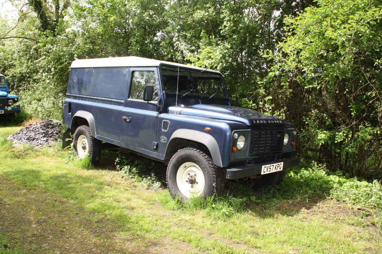 Used Land Rover Defender 110 Hard Top Tdci For Sale In