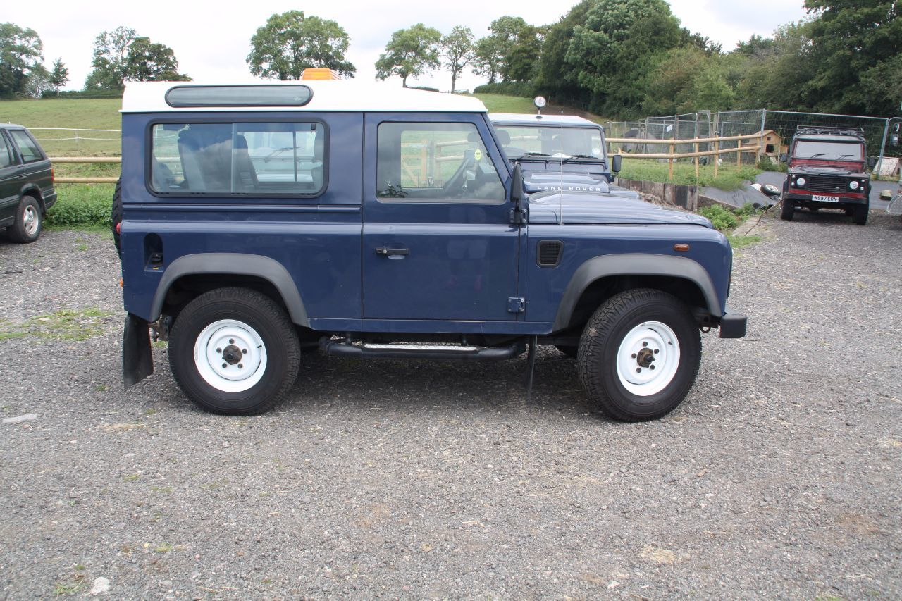 Used Land Rover Defender Station Wagon Tdci 22 For Sale In