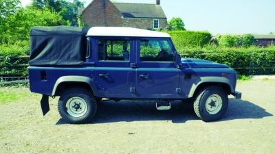Land Rover Defender Double Cab PickUp TDCi [2.2] Pick Up Diesel BlueLand Rover Defender Double Cab PickUp TDCi [2.2] Pick Up Diesel Blue at Gloucester Landrover Gloucester
