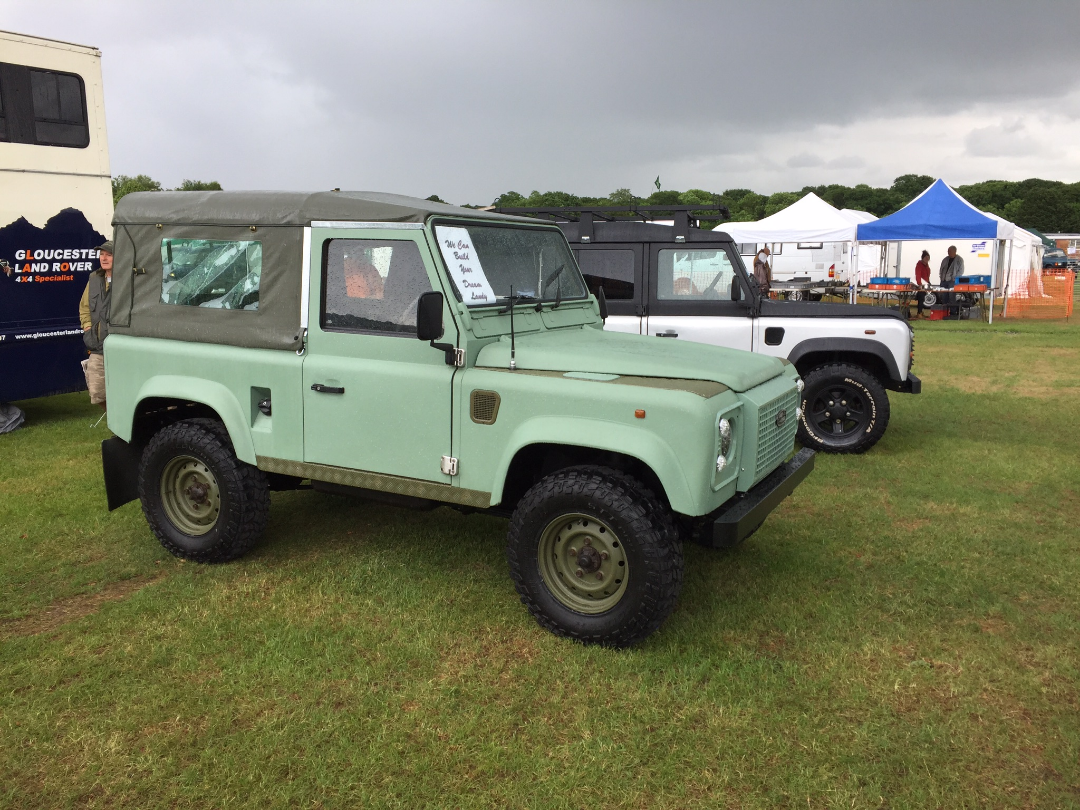 1996 Land Rover Defender 2.5 90 Pick up