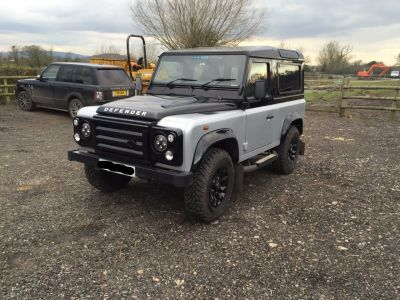 Land Rover Defender Autobiography TDCi [2.2] Four Wheel Drive Diesel Silver at Gloucester Landrover Gloucester