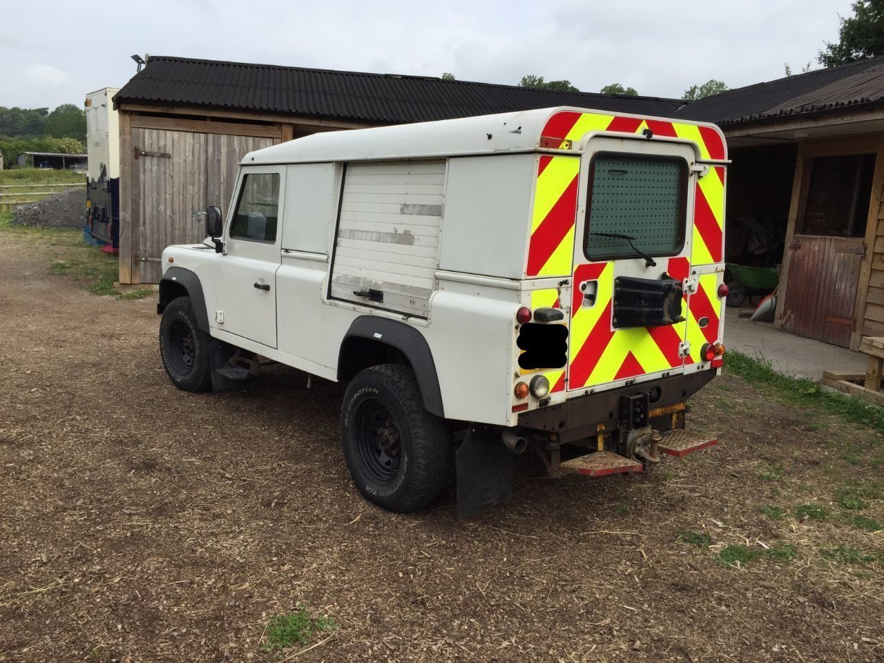 2008 Land Rover Defender 2.4 110 Hard Top TDCi