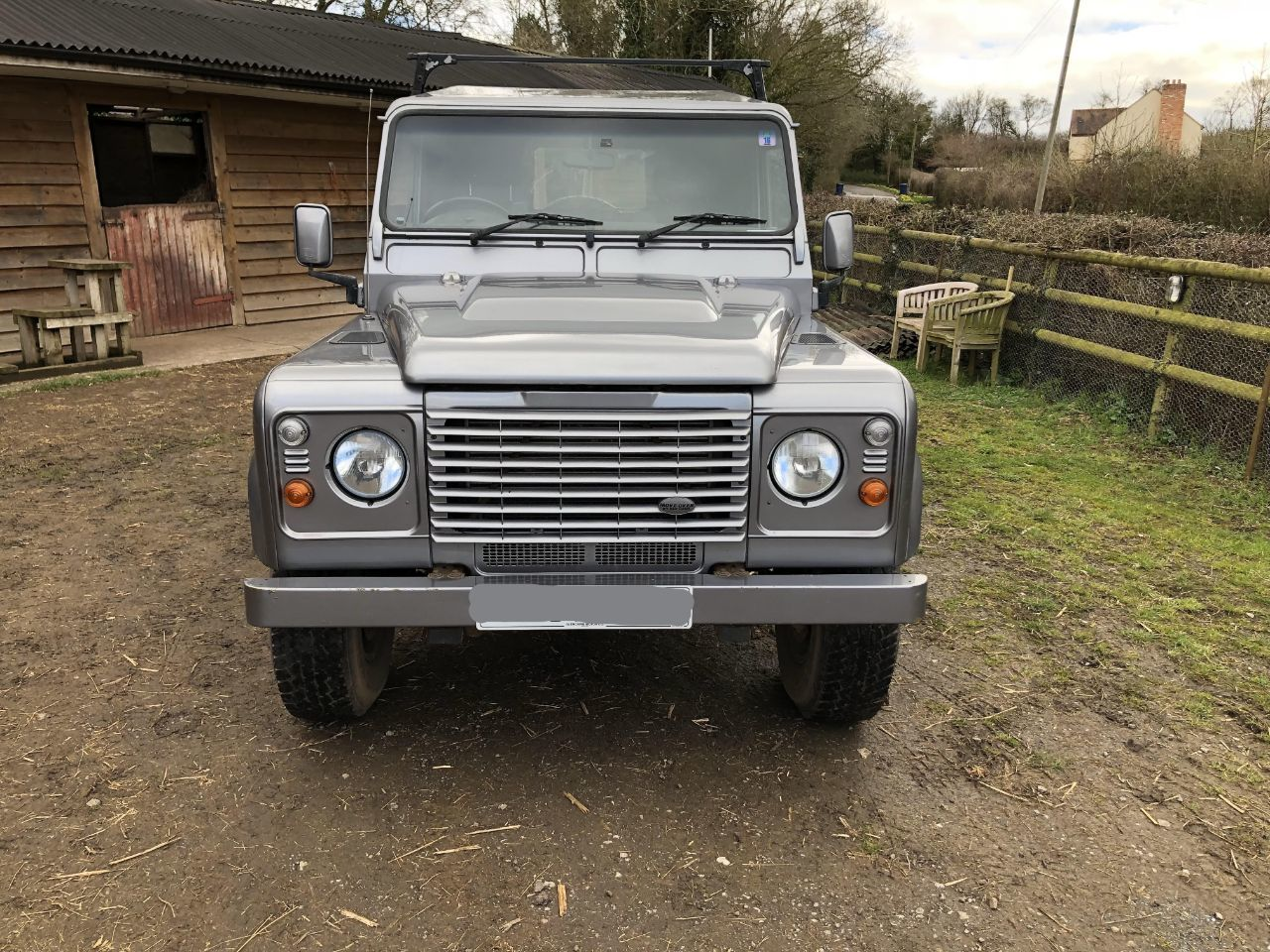 2007 Land Rover Defender 2.4 110 Hard Top