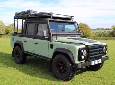 Land Rover Defender 2.5 XS Double Cab PickUp Td5 Pick Up Diesel GreenLand Rover Defender 2.5 XS Double Cab PickUp Td5 Pick Up Diesel Green at Gloucester Landrover Gloucester