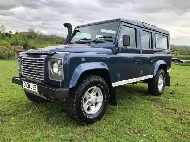 Land Rover Defender 2.4 XS Station Wagon TDCi Estate Diesel Blue