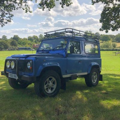 Land Rover Defender 2.5 County Station Wagon Four Wheel Drive Diesel BlueLand Rover Defender 2.5 County Station Wagon Four Wheel Drive Diesel Blue at Gloucester Landrover Gloucester