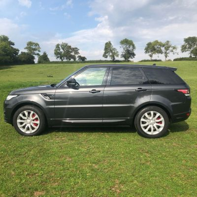 Land Rover Range Rover Sport 4.4 SDV8 Autobiography Dynamic 5dr Auto [SS] Estate Diesel Grey at Gloucester Landrover Gloucester