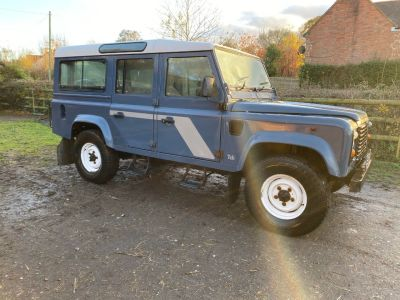 Land Rover Defender 2.5 110 Station Wagon Four Wheel Drive Diesel BlueLand Rover Defender 2.5 110 Station Wagon Four Wheel Drive Diesel Blue at Gloucester Landrover Gloucester
