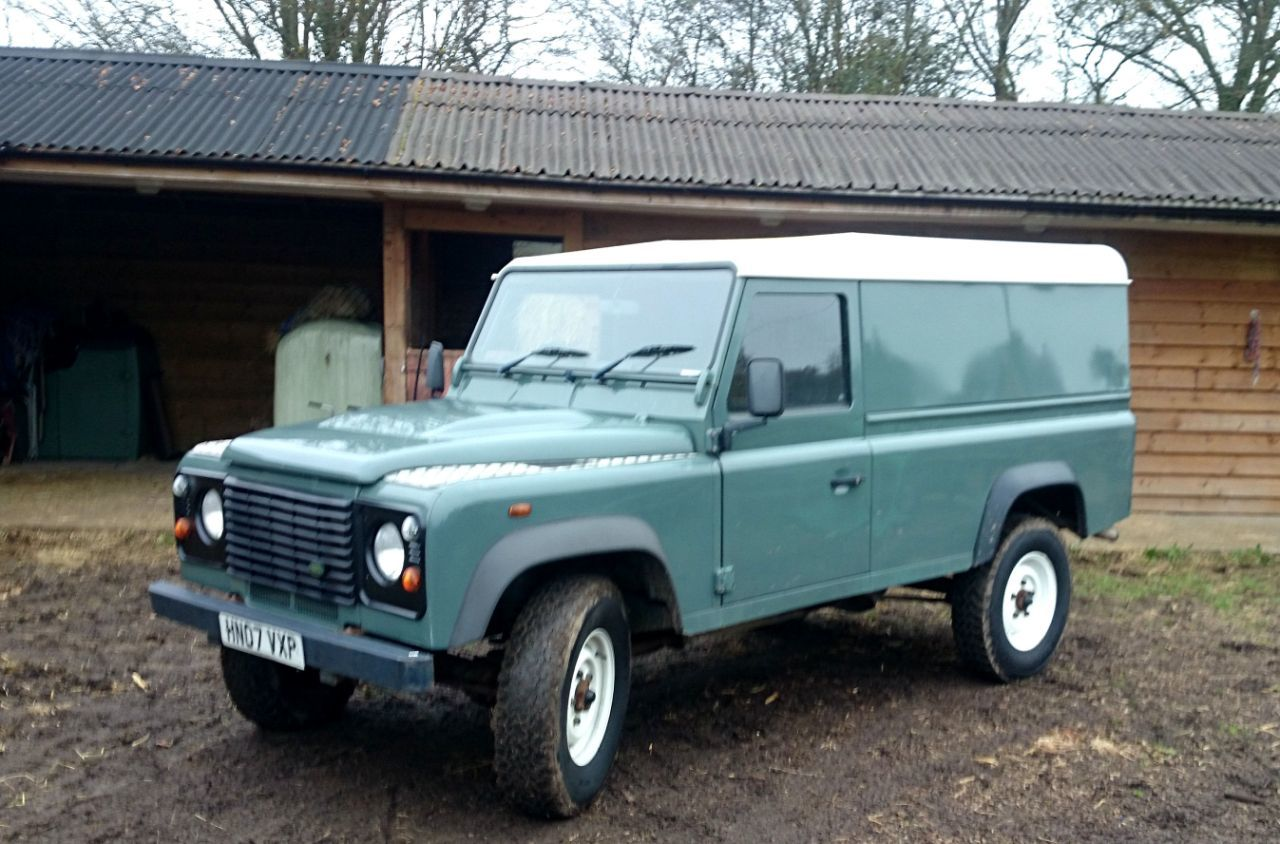 second hand land rover defender defender 110 hard top for sale in gloucester gloucestershire. Black Bedroom Furniture Sets. Home Design Ideas